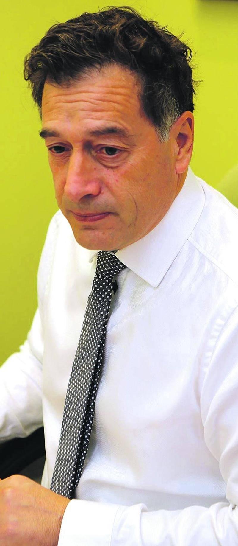 André Barnabé, directeur général de Saint-Hyacinthe Technopole et dernier président de la Cité de la biotechnologie de Saint-Hyacinthe. Photothèque   Le Courrier ©