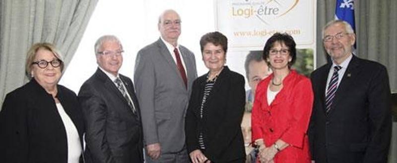 Le lancement du programme Qualité Logi-Être pour la région Richelieu-Yamaska a réuni plusieurs partenaires.