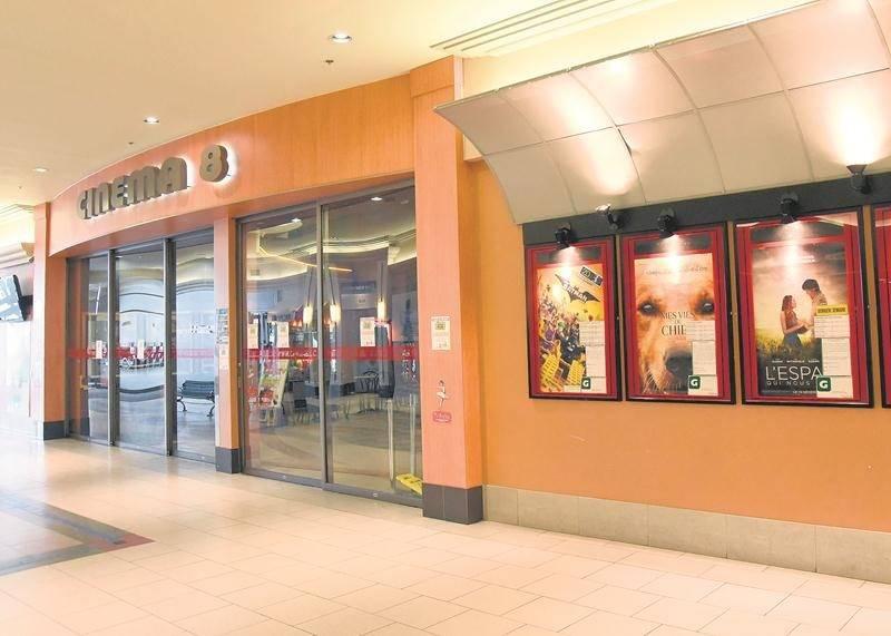 Le Cinéma 8 rouvrira ses portes en mai après d'importants travaux de rénovation.  Photo François Larivière | Le Courrier ©