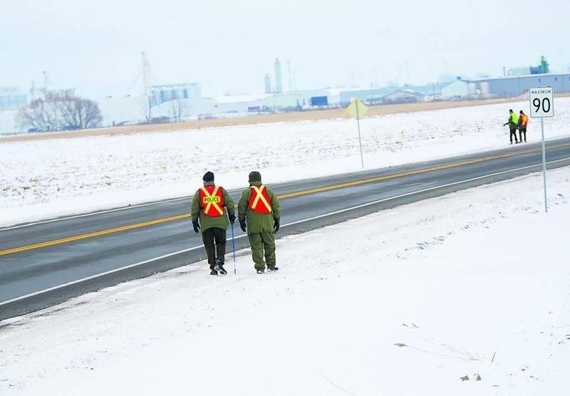 La disparition de Diane Ferron a été signalée le 15 janvier et a enclenché une vaste opération de recherches par les policiers de la Sûreté du Québec.Photo Bruno Beauregard