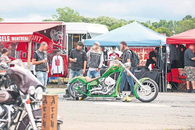 Les grands rassemblements de motos sont susceptibles d'attirer une clientèle indésirable à