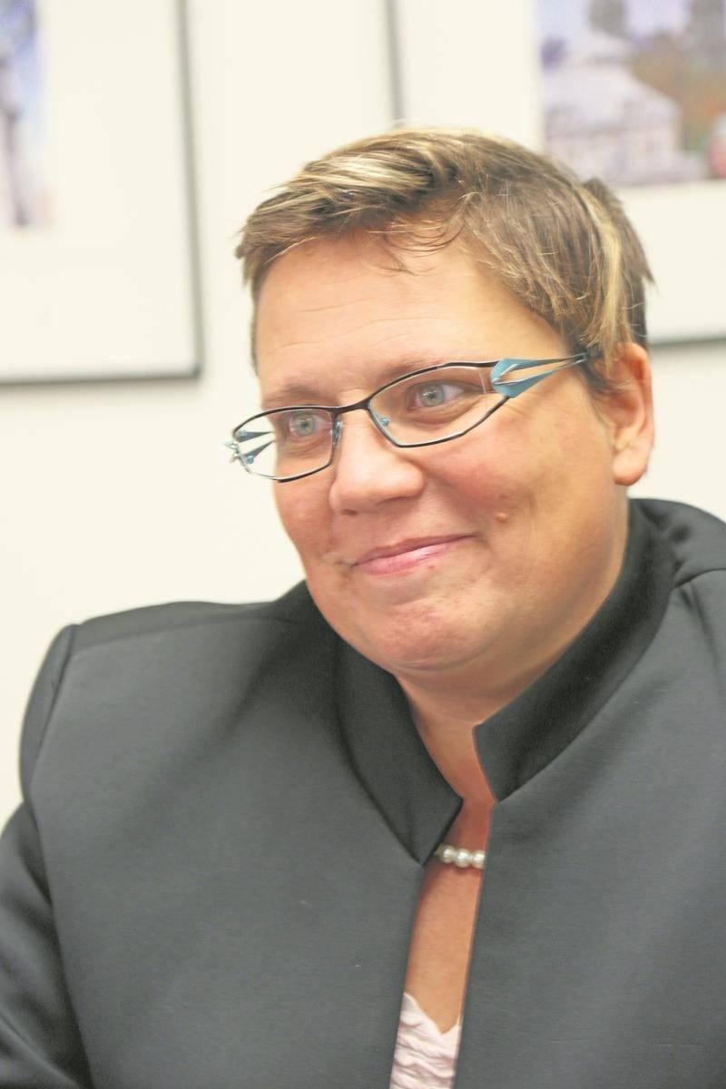Sylvie Norris, candidate dans le district La Providence.   Photo Robert Gosselin | Le Courrier ©