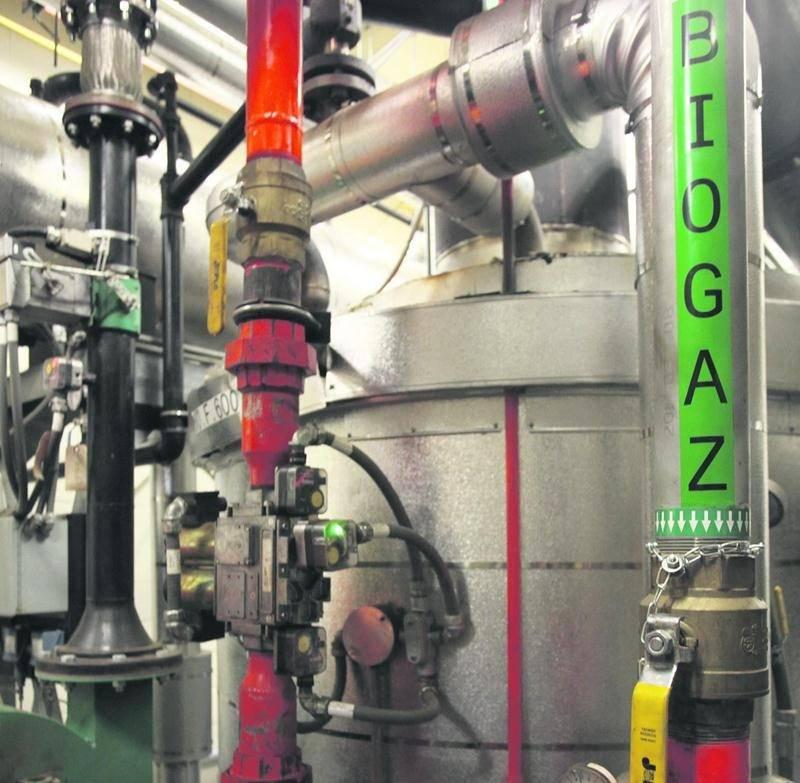 La Ville de Saint-Hyacinthe pourra compléter les installations de son usine de biométhanisation sans souci maintenant qu'elle sais que le gaz qu'elle produit est compatible avec celui de Gaz Métro. Photothèque | Le Courrier ©