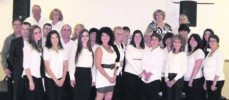 L'équipe de bénévoles lors de l'édition 2013.