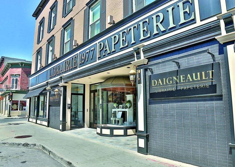 La librairie Daigneault accueillera ses derniers clients le dimanche 16 juillet.  Photo Robert Gosselin | Le Courrier ©