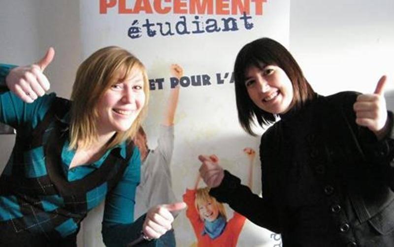 Stéphanie Gibeault et Karine Joubert parcourent la Montérégie pour faire connaître le Placement étudiant (<a href=
