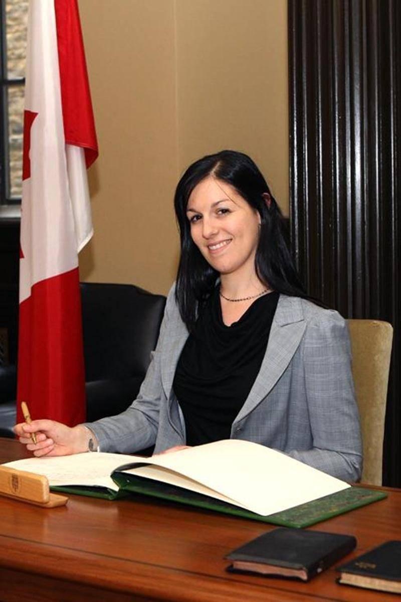Marie-Claude Morin a pris possession de son siège à la Chambre des communes, jeudi matin.