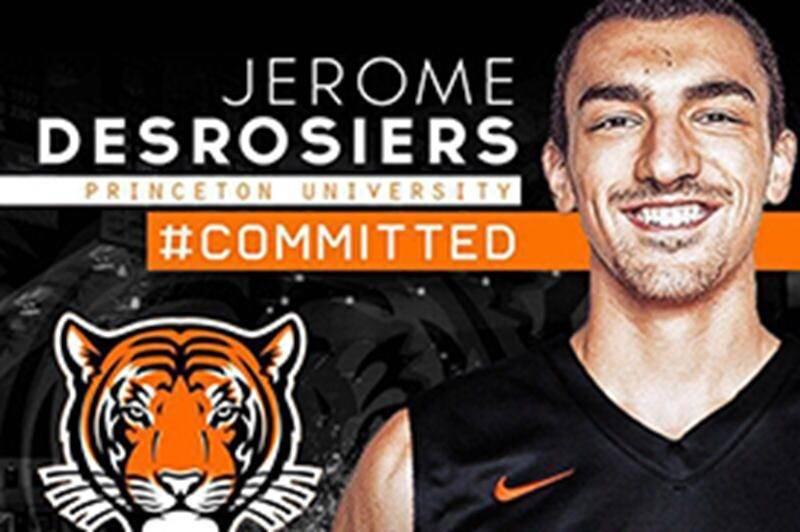 Jérôme Desrosiers s'entend avec les Tigers de Princeton