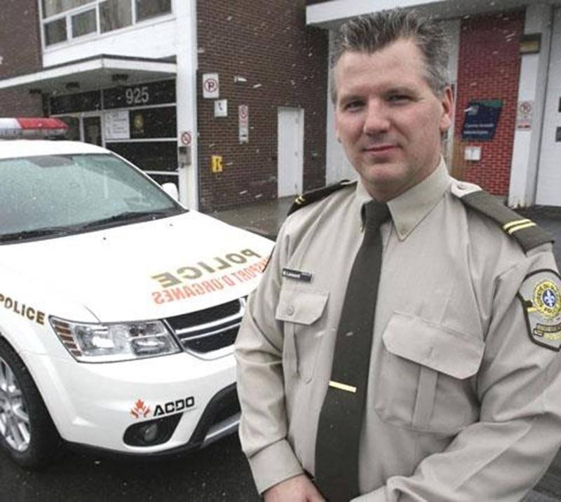 Le sergent Martin Lessard a été honoré au dernier Gala des Prix Policiers du Québec pour son implication dans le transport d'organes.