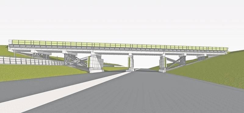 Esquisse de la plus récente version du projet du tunnel du boulevard Casavant Ouest. Source : Ville de Saint-Hyacinthe