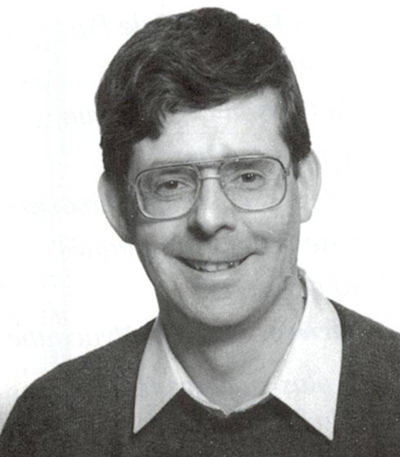 Daniel Moreau alors qu'il était curé dans la paroisse Notre-Dame-du-Très-Saint-Sacrement à Saint-Hyacinthe dans les années 1990.
