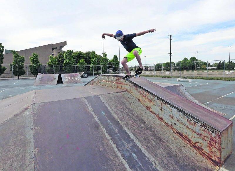 L'utilisation du « skatepark » actuel tire à sa fin. Photo Robert Gosselin | Le Courrier ©