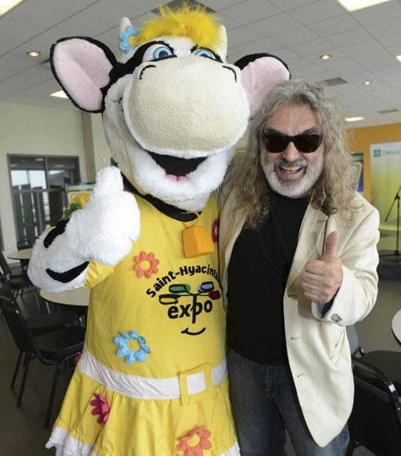 Michel Pagliaro invite tous les Maskoutains à venir l'écouter à l'Expo.