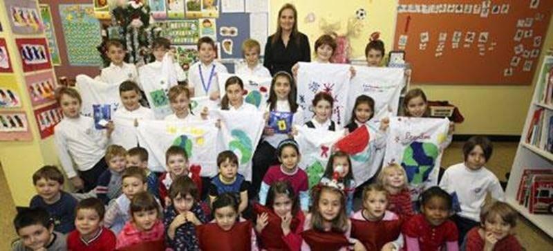 L'enseignante Hélène Feeley et les élèves de la quatrième année de La Petite Académie ont plus d'un tour dans leur sac!