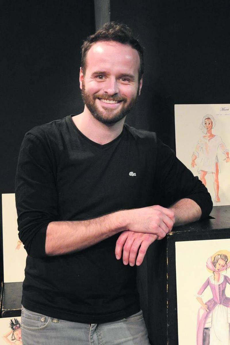 Michel-Maxime Legault signe sa troisième mise en scène à l'École de théâtre du Cégep après Warwick en 2011 et Rhinocéros en 2013. Photo François Larivière | Le Courrier ©