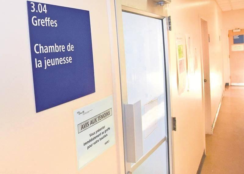 La demande de remise en liberté formulée par les deux adolescents accusés de complot de meurtre et de viol a été refusée.  Photo François Larivière | Le Courrier ©