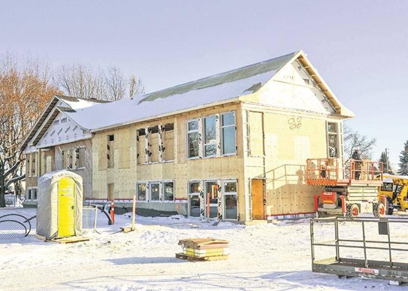 Les projets de construction et de rénovation d'écoles se multiplient présentement dans la région maskoutaine. Photo François Larivière | Le Courrier ©