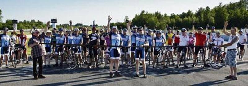 Une somme de 1050 $ a été amassée au profit du Camp Richelieu lors du Défi Vélo 6 h.