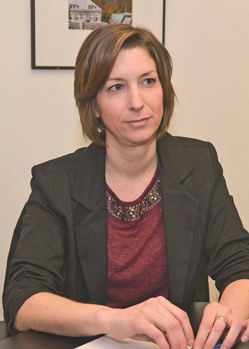 Catherine Robillard, propriétaire et gestionnaire du futur centre d'amusement Maskarade.  Photo François Larivière | Le Courrier ©