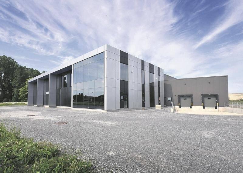 Implantée dans la Cité de la biotechnologie, l'entreprise Zénith Lab sera opérationnelle cet automne. Photo François Larivière | Le Courrier ©