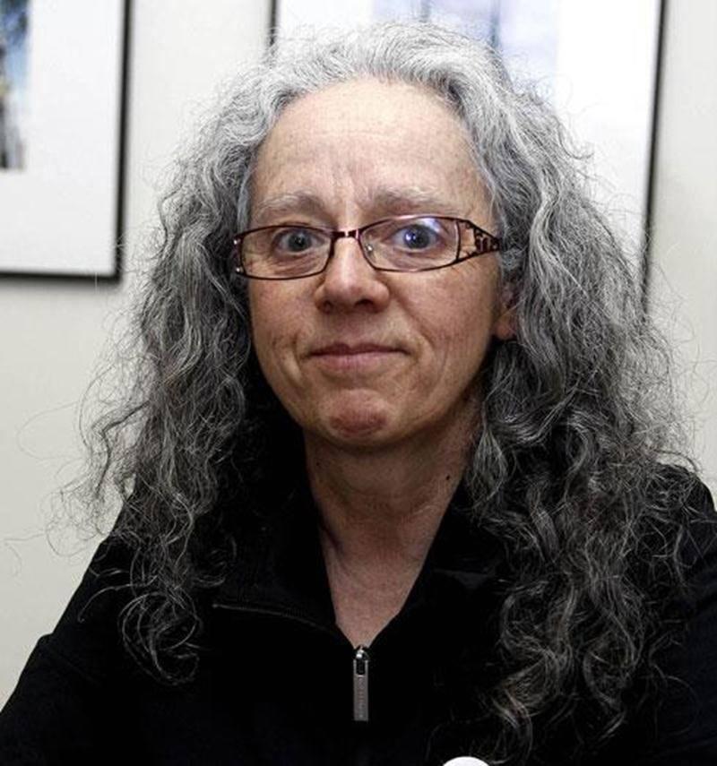 La candidate solidaire Danielle Pelland est convaincue qu'elle réussira à faire doubler le pourcentage de voix accordé à son parti à Saint-Hyacinthe.