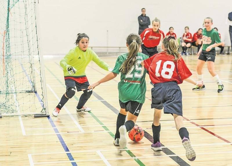 Pas moins de 68 équipes ont participé au Défi futsal primaire, dont 23 provenant d'écoles de la Commission scolaire de Saint-Hyacinthe. Photo François Larivière | Le Courrier ©