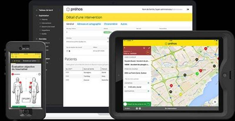 Voici à quoi ressemblera la nouvelle solution mobile Prehos.