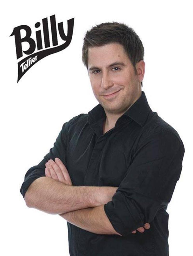 Billy Tellier présentera son premier <em>one man show</em> le jeudi 10 janvier au Centre des arts Juliette-Lassonde.