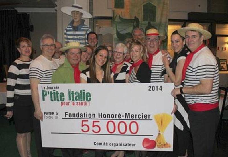Plus de 900 personnes ont pris part à « La Journée P'tite Italie pour la santé » qui avait lieu au Club de golf de Saint-Hyacinthe. Un montant de 55 000 $ a été amassé lors de cette activité.