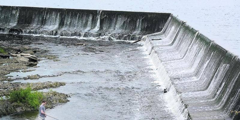 La Ville réalisera bientôt la phase II du projet de stabilisation du réservoir principale du barrage Penman's, au coût de 626 000 $. Photo François Larivière   Le Courrier ©