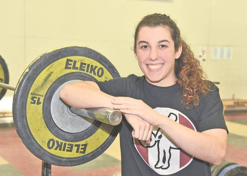 Tali Darsigny vivra son baptême du Championnat du monde senior d'haltérophilie le 29 novembre à Anaheim, en Californie.   Photothèque | Le Courrier ©