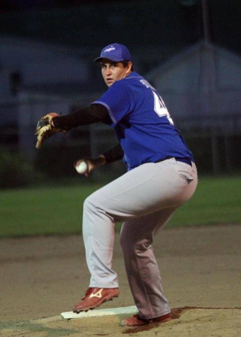 Jonathan Boutin-Dorion est passé à un retrait de lancer un match complet pour les Dodgers, le 24 août.