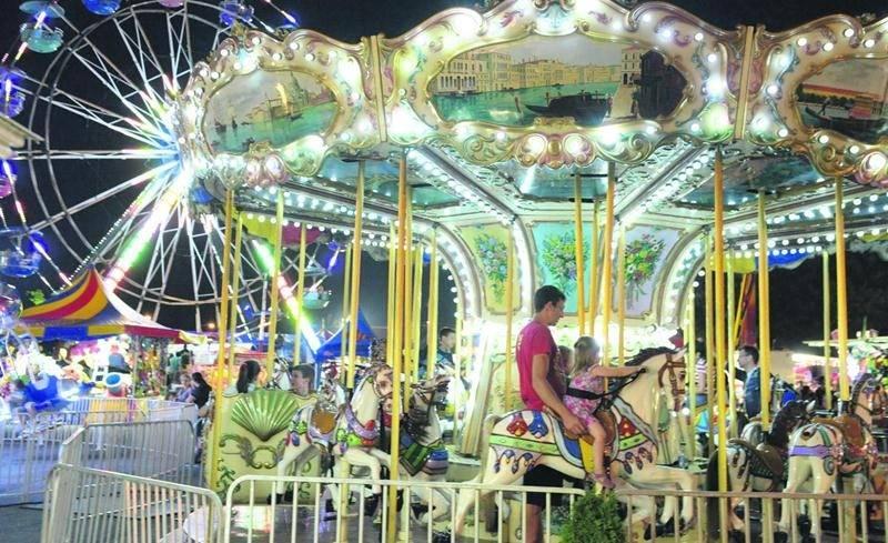 En tout, c'est 25 manèges d'Amusements Spectaculaires qui ont fait le plaisir des petits et des grands durant l'Expo de Saint-Hyacinthe. Photo Patrick Deslandes