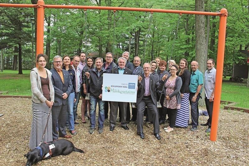 Au printemps, près de 260 000 $ ont été accordés par la MRC des Maskoutains pour le développement rural. Photo Denyse Bégin