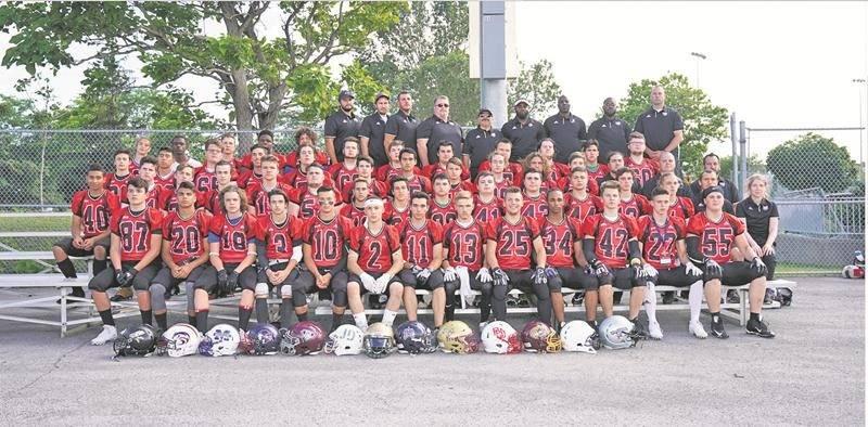L'équipe de la Montérégie U17 comptait six joueurs du Drakkar et six autres des Patriotes pour sa première participation à la Coupe Spalding. Photo Football Québec