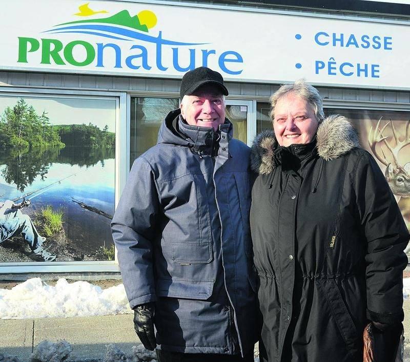 Andrée Flibotte avait repris le magasin Flibotte Sports de son père en 1984 en compagnie de son mari, André Robert. Photo François Larivière | Le Courrier ©