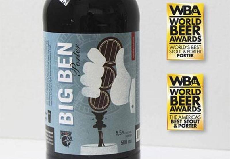 Le Big Ben Porter de Brasseurs du Monde (Saint-Hyacinthe) a remporté le titre du «Meilleur porter au monde 2012» au World Beer Awards à Londres le 28 septembre lors de dégustations à l'aveugle. Jamais une brasserie québécoise aussi jeune (15 mois d'existence) n'avait remporté un prix aussi prestigieux.