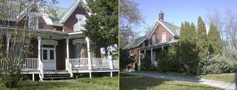 Maison Beaudry située au 730, rue Girouard Ouest -Maison Marsereault située au 740, rue Girouard Ouest.