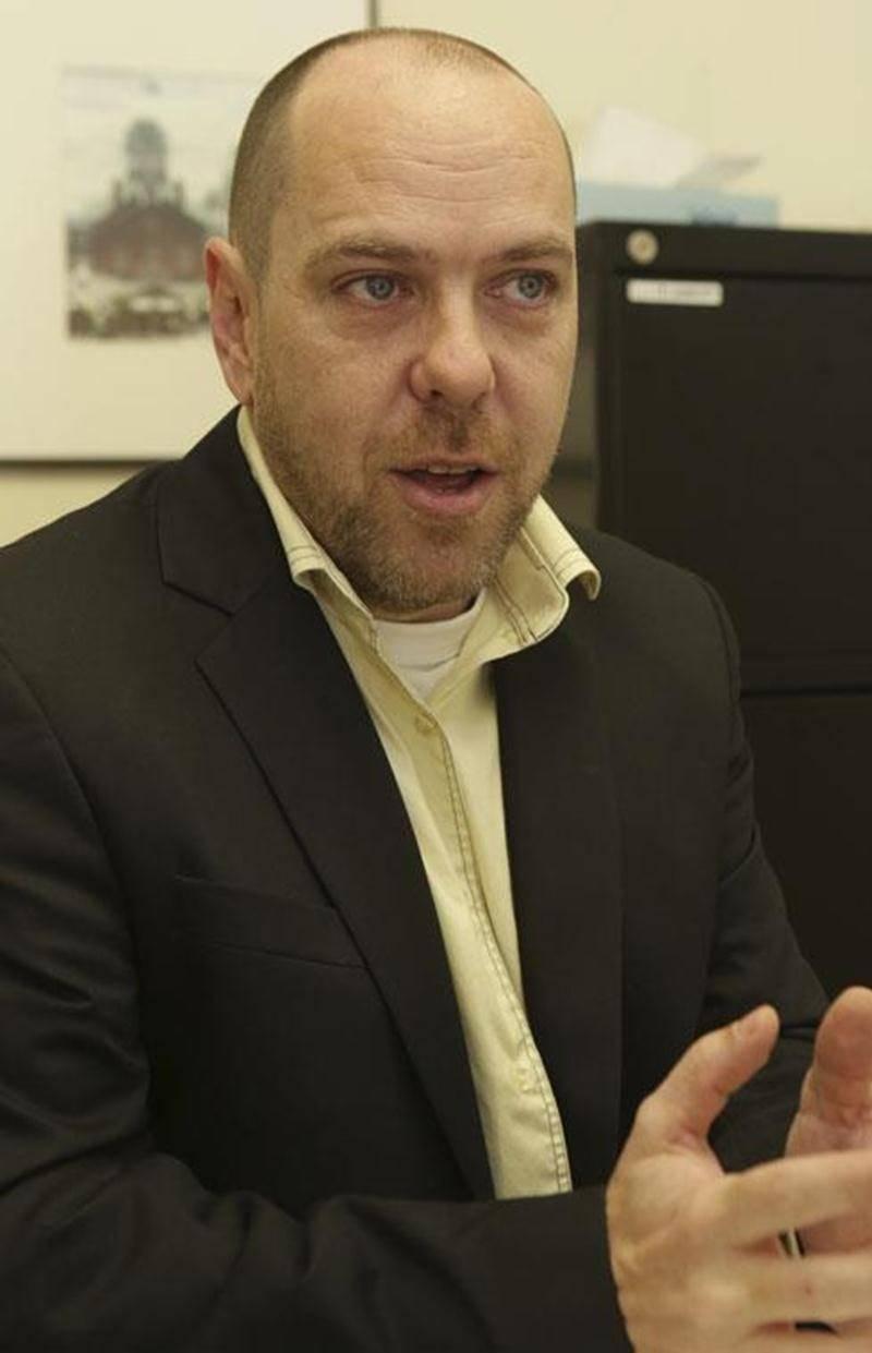 Simon Labbé, candidat pour le Parti conservateur du Québec.