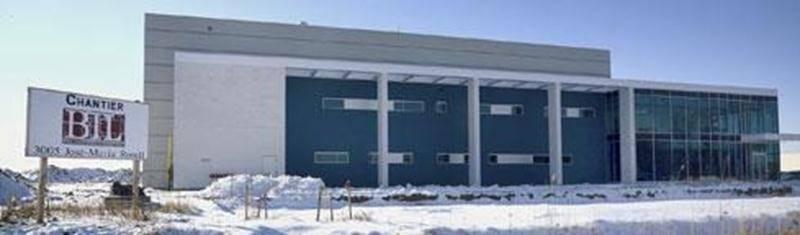Le Centre de développement pharmaceutique de Saint-Hyacinthe.