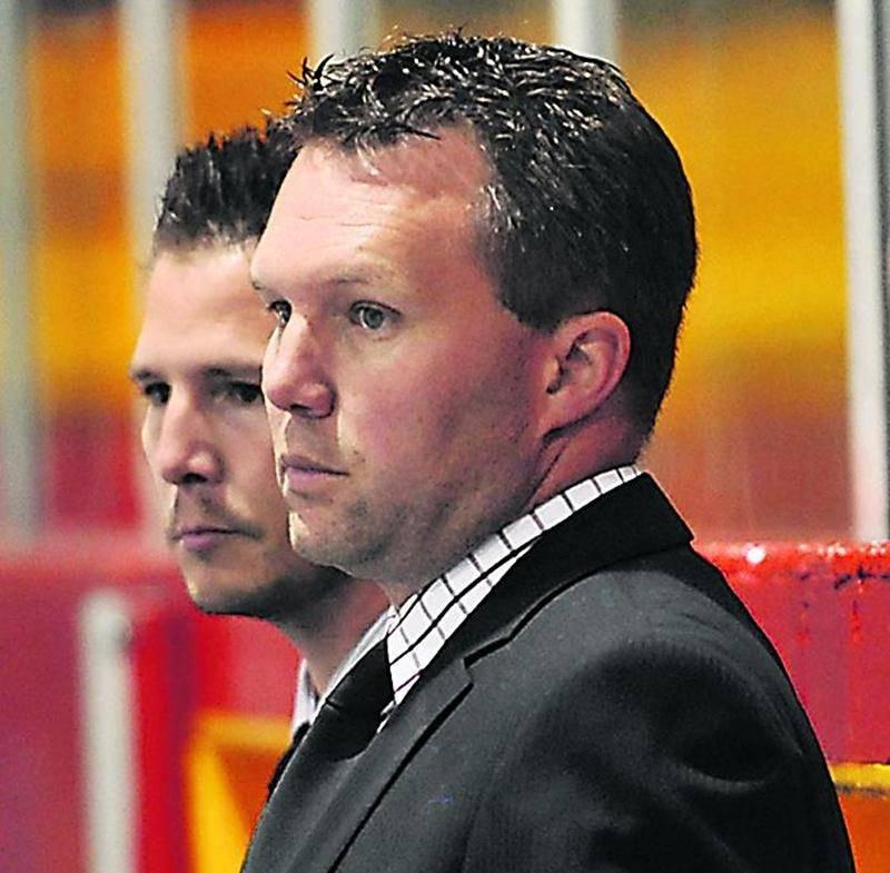 L'entraîneur-chef des Lauréats, Stéphane Donais, n'est plus en fonction depuis le 18 décembre.  Photo François Larivière | Le Courrier ©