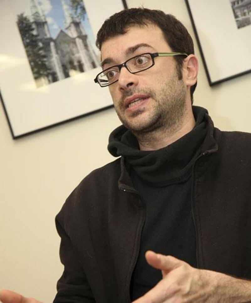 Le conseiller municipal de Saint-Jude et humoriste Christian Vanasse.