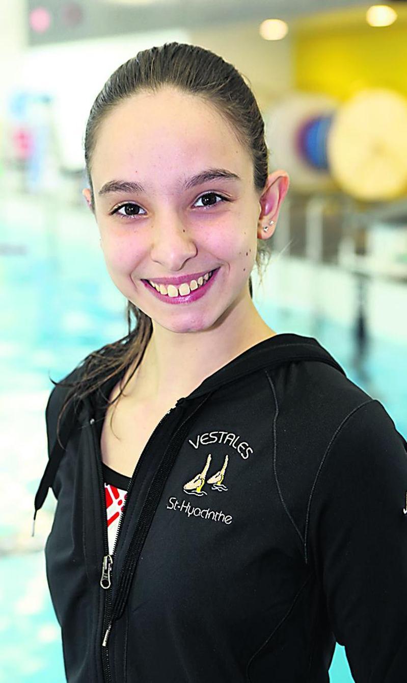 Mélody Roy est assurée de participer à l'épreuve de duo aux Jeux du Canada.  Photothèque | Le Courrier ©