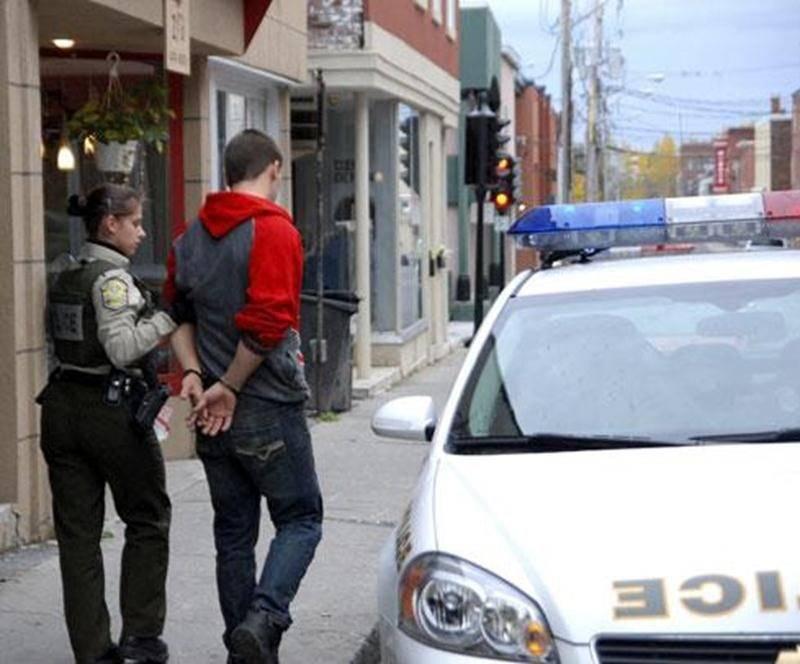 Un jeune homme de 20 ans, Marc-André Lachance, a été arrêté par les policiers de la Sûreté du Québec, le jeudi 13 octobre, après la découverte de plus de 1 000 plants de marijuana dans deux appartements de la rue Mondor, au centre-ville de Saint-Hyacinthe. Tôt le matin, les policiers ont été demandés en assistance aux pompiers pour une fuite d'eau dans un commerce. Sur les lieux, ils ont découvert la serre improvisée ainsi que tout le matériel nécessaire à la production de cannabis. Le suspect a