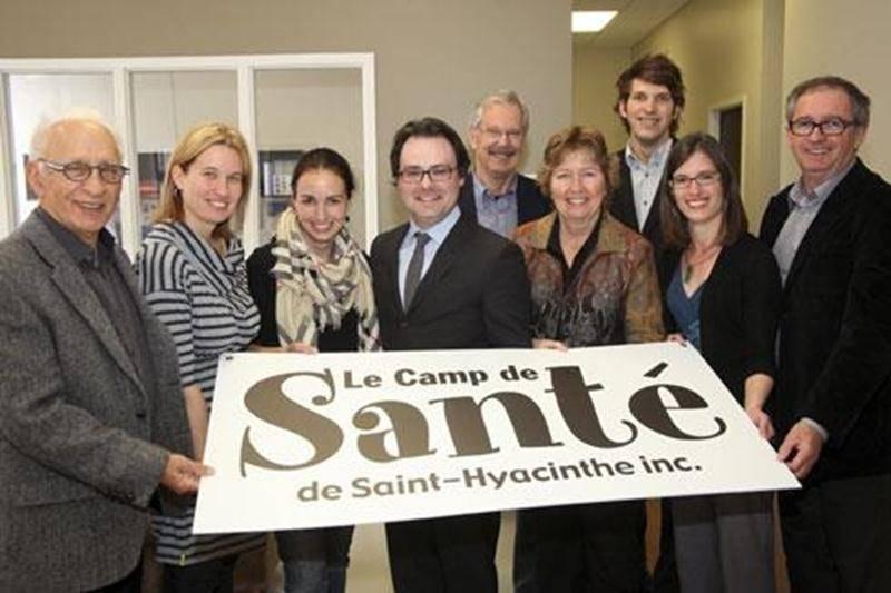 L'équipe bénévole du Camp de Santé de Saint-Hyacinthe souhaite amasser 50 000 $ avec sa campagne de financement.