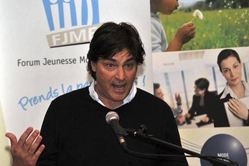 Jean-François Pichette, comédien et porte-parole de la 3<sup>e</sup> édition de la Course Montérégie Est.