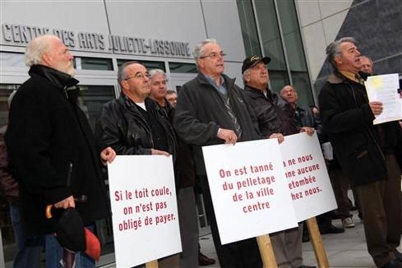 Les élus de la région n'ont toujours pas l'intention de contribuer au budget de fonctionnement du Centre des arts. Ils avaient manifesté leur mécontentement haut et fort en octobre 2009.