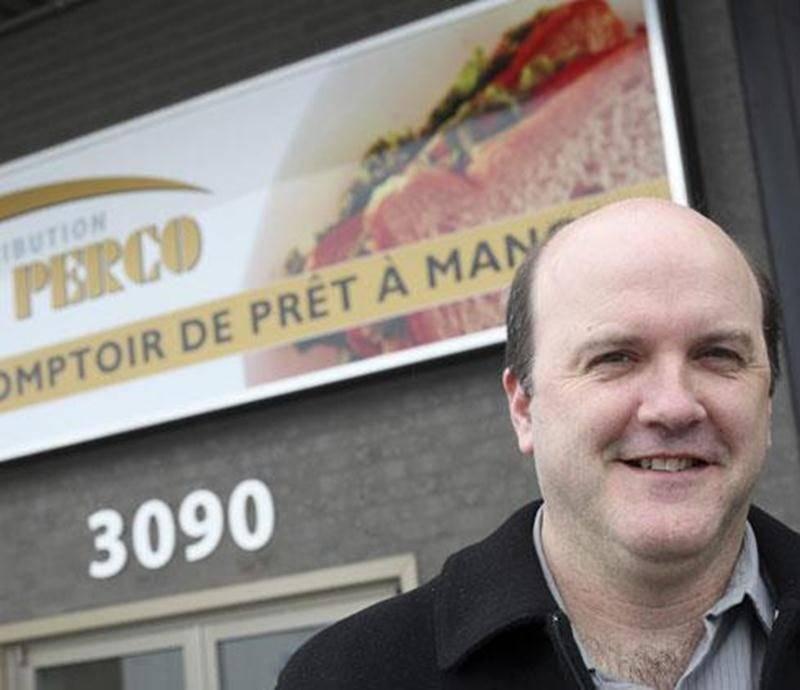 Patrick St-Onge file le parfait bonheur depuis que sa PME, Distribution Le Perco, est installée au 3090 Choquette, dans le parc Industriel.