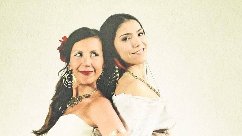 Les chanteuses Bïa et Mamselle Ruiz forment le duo Bandidas et nous rendent visite le samedi