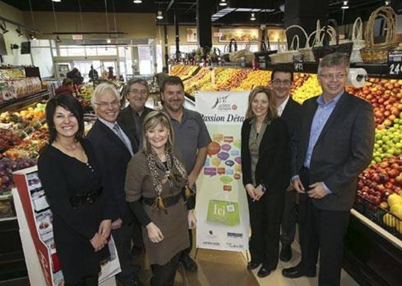 Le lancement du Concours Passion Détail a eu lieu au Marché Dessaulles, récipiendaire en 2012 du prix Coup de coeur du public.